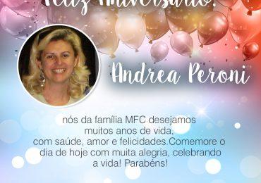 Parabéns,  Andrea Peroni!