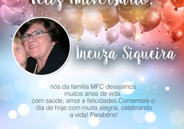 Parabéns, Ineuza Siqueira
