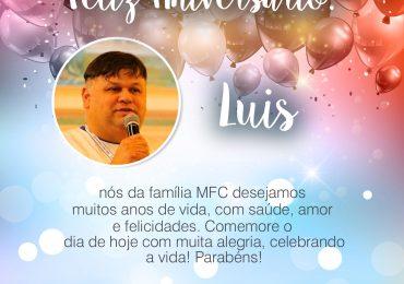 Parabéns, Luís!