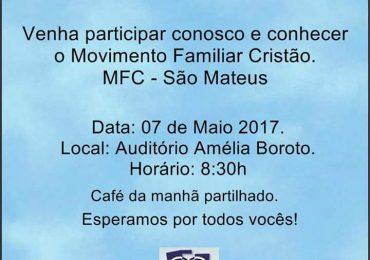 MFC São Mateus – Vamos falar de Pertença?