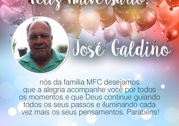 Parabéns, José Galdino!