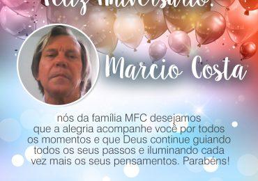 Parabéns, Marcio Costa!