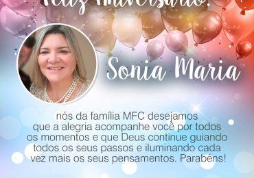 Parabéns, Sonia Maria!