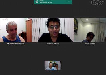 Videoconferência com o Secretariado Nacional