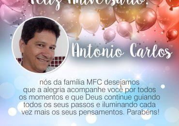 Parabéns, Antonio Carlos!