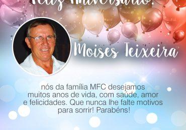 Parabéns, Moises Teixeira!