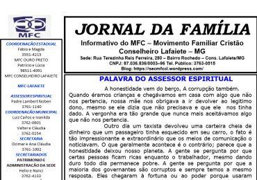 MFC Conselheiro Lafaiete-MG: Jornal Mensal