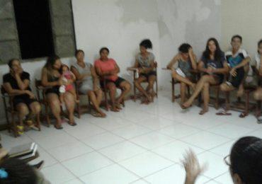Jovens do Maranhão se preparando para o II FAC