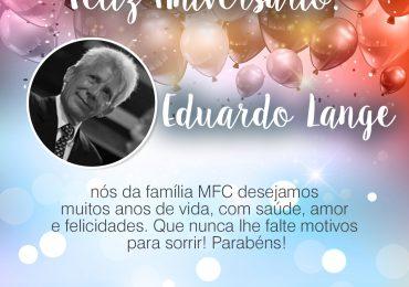 Parabéns,  Eduardo Lange!
