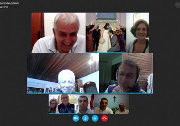 MFC Brasil: Videoconferência com Secretariados Nacionais