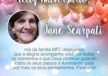Parabéns, Jane Scarpati Liuth!