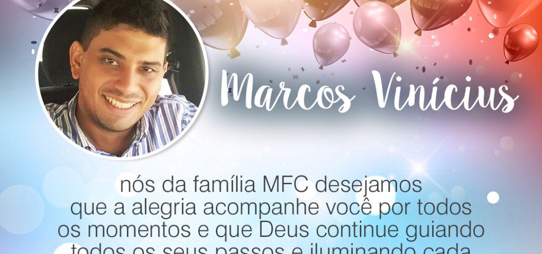 Parabéns, Marcos Vinícius!