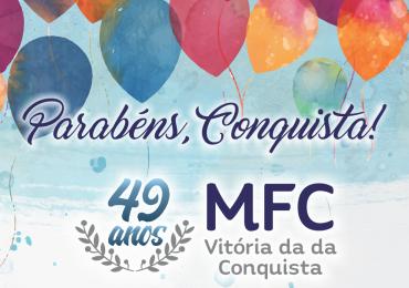 Parabéns, MFC Vitória da Conquista!