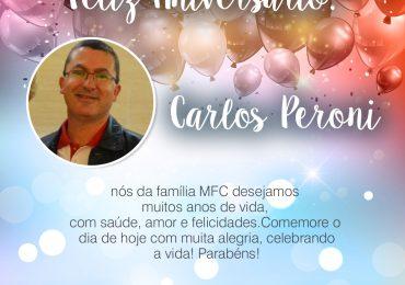 Parabéns, Carlos Peroni!