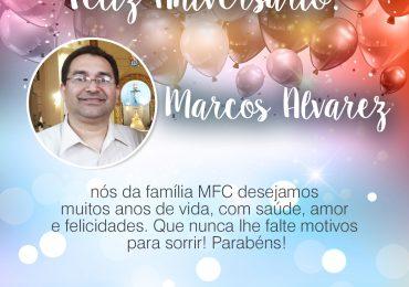 Parabéns, Marcos Alvarez!