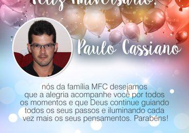 Parabéns, Paulo Cassiano!