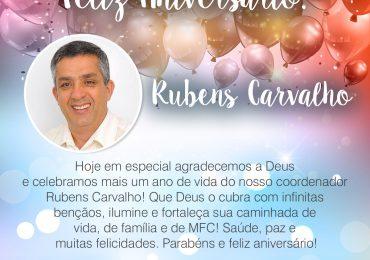 Parabéns, Rubens Carvalho!