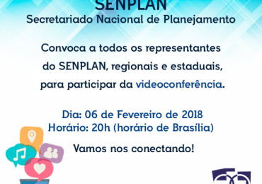 Convocação para Reunião SENPLAN