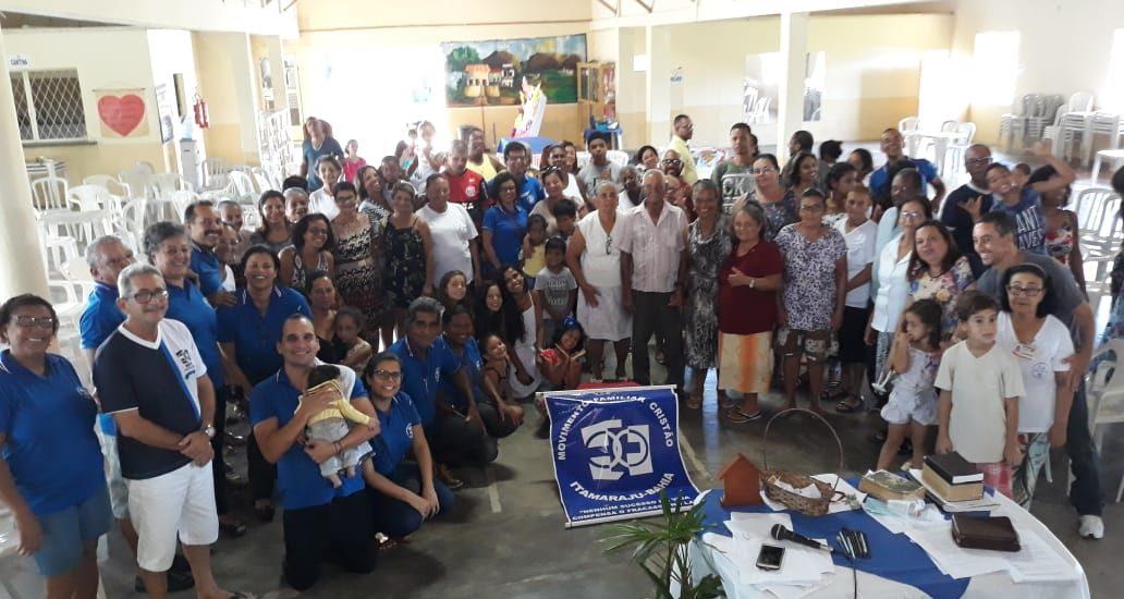 MFC Itamaraju: 7° Encontro com as Famílias