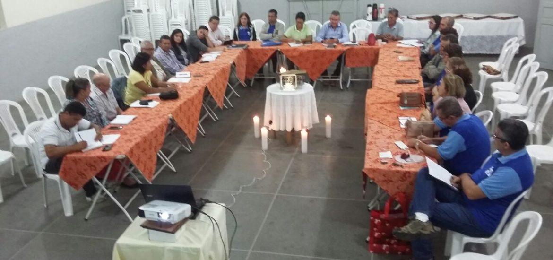 MFC Conquista: Reunião da Coordenação MFC de Cidade