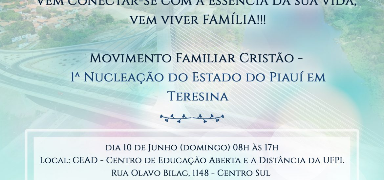 MFC Teresina: Encontro de Famílias