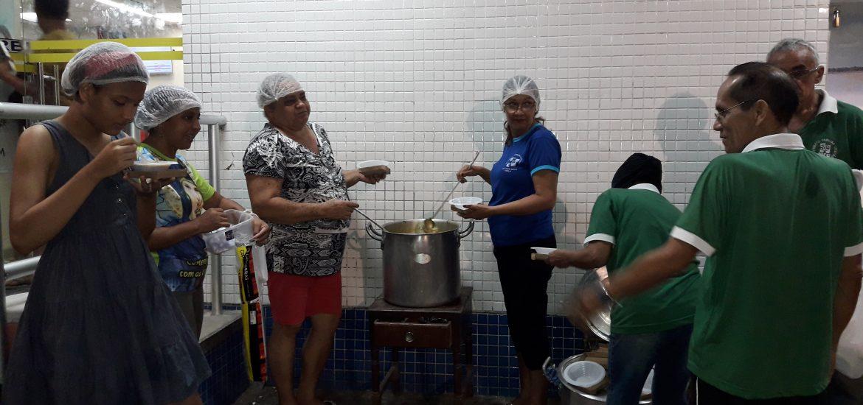 MFC Belém: Doação de Sopa no Pronto Socorro Municipal de Belém