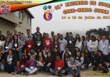 MFC Conselheiro Lafaiete: I Encontro Crer-Sendo Jovem