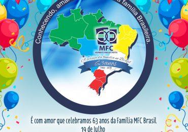 MFC Brasil 63 anos!