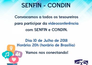 Convocação Reunião SENFIN e CONDIN