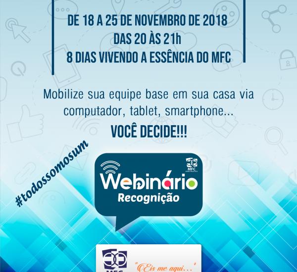 Webinário MFC – Recognição