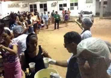 MFC São Luís: Entrega de Sopa