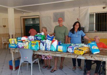 MFC Linhares: Doação de Fraldas