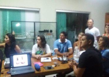 MFC Linhares: Formação Equipe Amigos na Fé