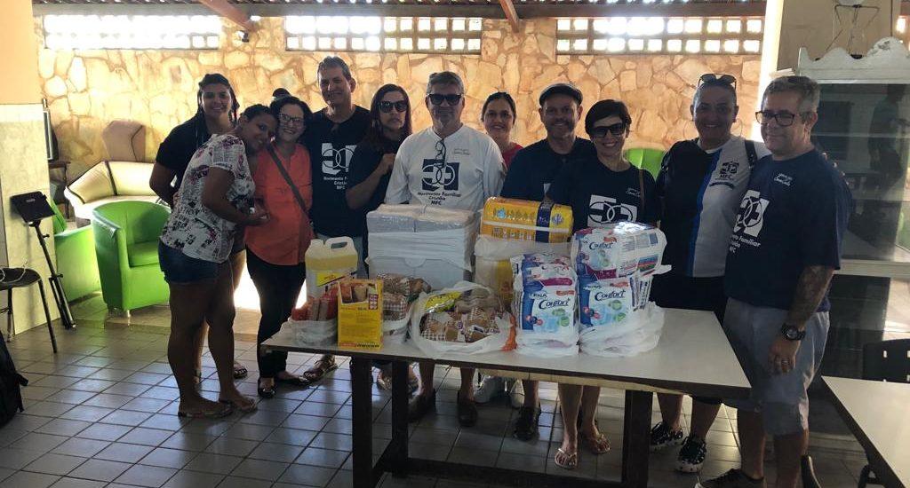 MFC Maceió: Visita ao abrigo São Vicente de Paulo