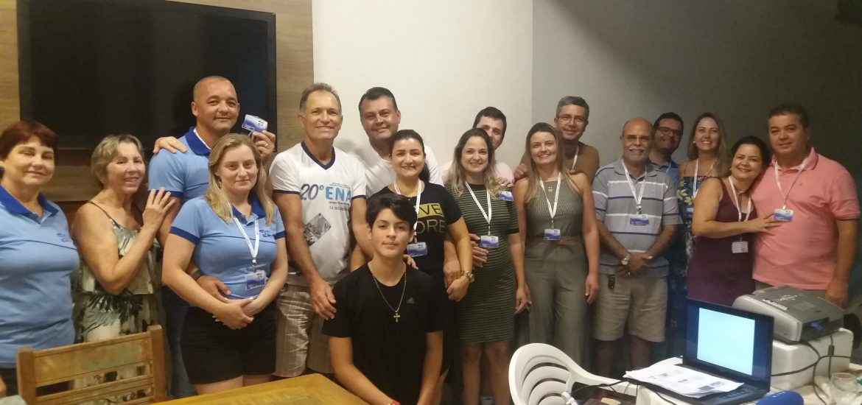 MFC Linhares: Formação 20º ENA Equipe Base