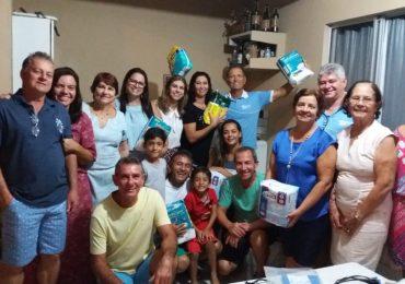 MFC Linhares: Estudo Pré-ENA Equipe Base Vida Nova