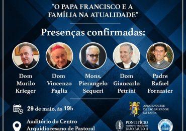 """Noite de Debate: """"O Papa Francisco e a família na atualidade"""""""