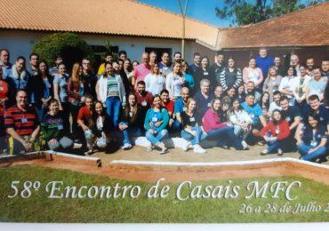 MFC Santo Antônio da Platina: 58º Encontro de Casais
