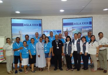 Delegação do Brasil presente na XXIX AGLA