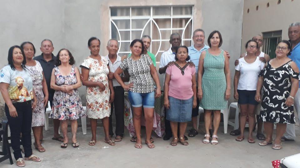 MFC Janaúba: Confraternização da Equipe Base Famílias Unidas