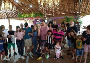 MFC Linhares: Confraternização