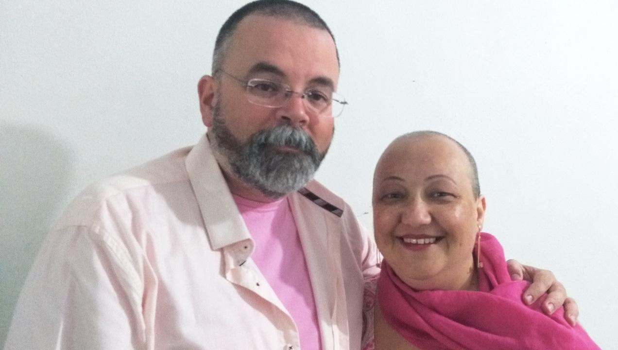 Carlos André e Adriana Padilha