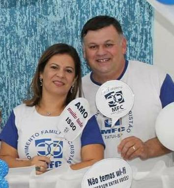Elaine Lera e Luís