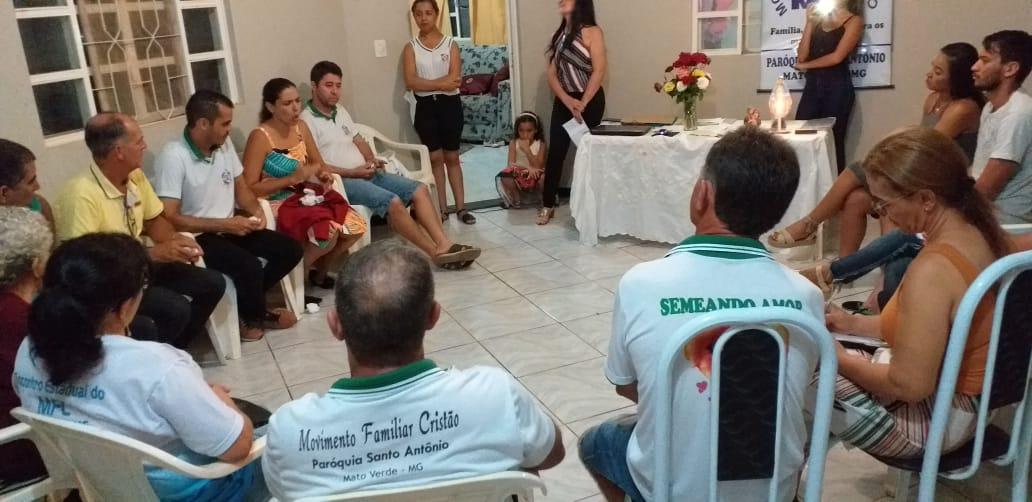 MFC Mato Verde: Reunião