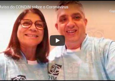MFC Nacional: Aviso sobre o Coronavírus