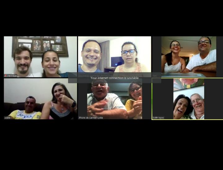 MFC Campo Grande: Videoconferência de Equipe Base