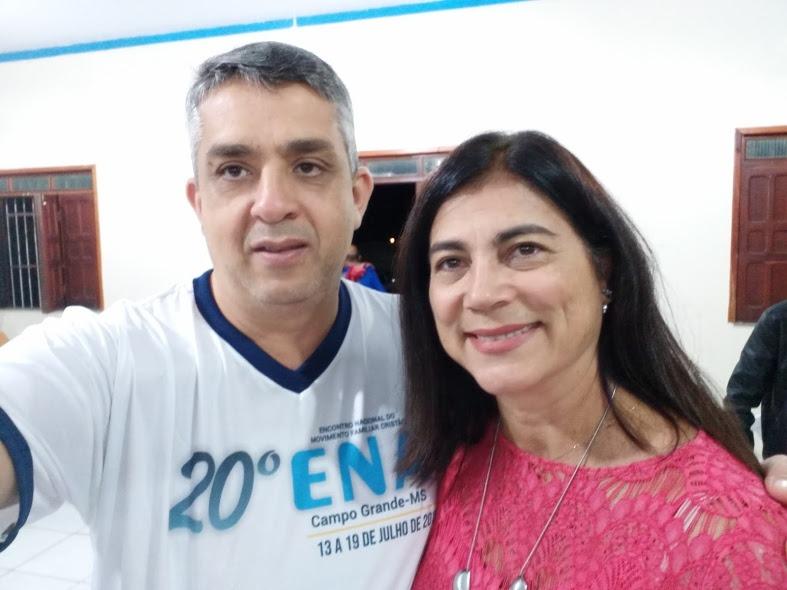 Rubens Carvalho e Rosana Neves