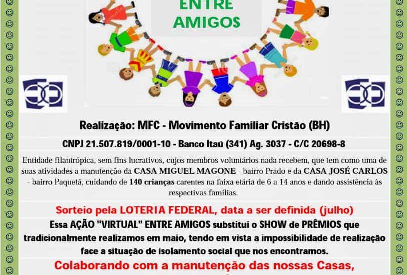 MFC Belo Horizonte: Ação Virtual entre Amigos