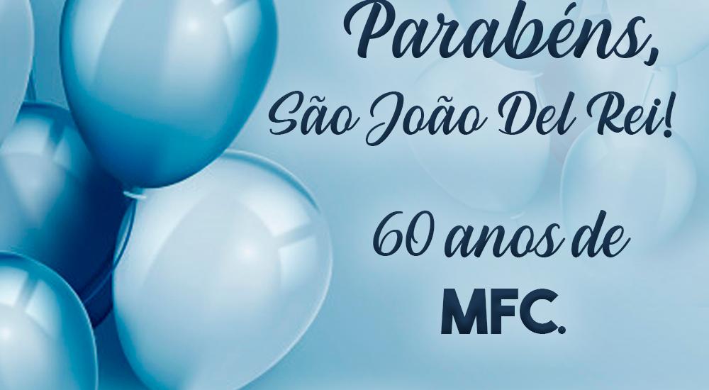MFC São João Del Rei: 60 anos