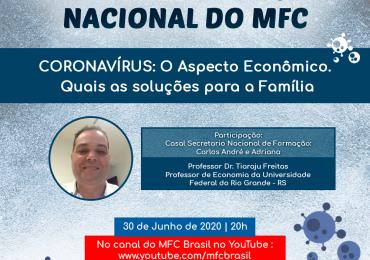 SENFOR: 1ª Live de Formação Nacional do MFC